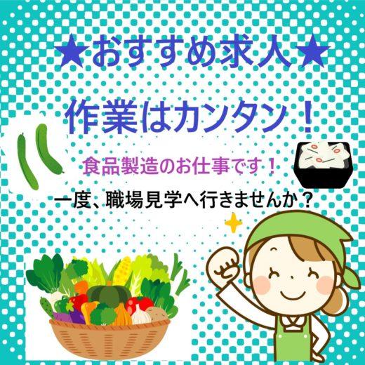 野菜の洗浄・材料の準備作業