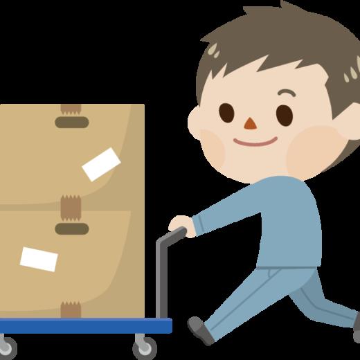製品チェックと梱包作業